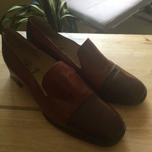 Gino Vaello Casual Slip On Shoe Brown Size 40
